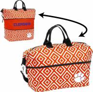 Clemson Tigers Expandable Tote Bag