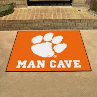 Clemson Tigers Man Cave All-Star Rug