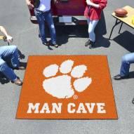 Clemson Tigers Man Cave Tailgate Mat