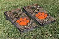 Clemson Tigers Mossy Oak Cornhole Game Set
