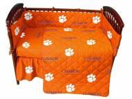 Clemson Tigers NCAA Baby Crib Set