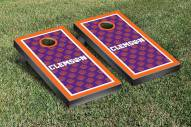 Clemson Tigers NCAA Border Cornhole Game Set