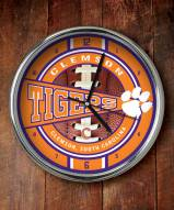 Clemson Tigers NCAA Chrome Wall Clock