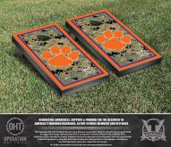 Clemson Tigers Operation Hat Trick Border Cornhole Game Set