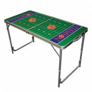 Clemson Tigers Outdoor Folding Table