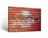 Clemson Tigers Weathered Canvas Wall Art