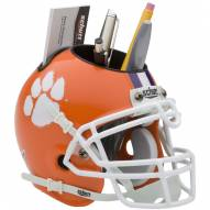 Clemson Tigers Schutt Football Helmet Desk Caddy