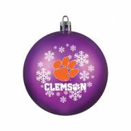 Clemson Tigers Shatterproof Ball Ornament