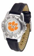 Clemson Tigers Sport AnoChrome Steel Band Women's Watch
