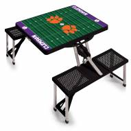 Clemson Tigers Sports Folding Picnic Table