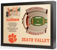 Clemson Tigers Stadium View Wall Art
