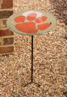Clemson Tigers Staked Bird Bath