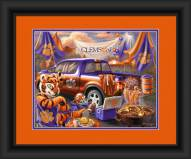 Clemson Tigers Tailgate Framed Print