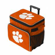 Clemson Tigers Tracker Rolling Cooler