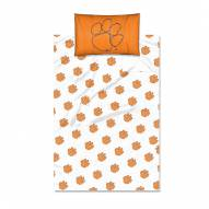 Clemson Tigers Twin Bed Sheets