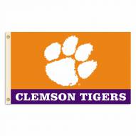 Clemson Tigers Two Sided 3' x 5' Flag