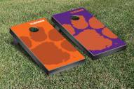 Clemson Tigers Watermark Cornhole Game Set