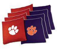 Clemson Tigers XL Bean Bags