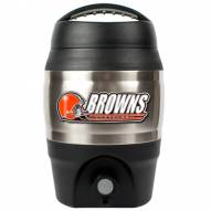 Cleveland Browns 1 Gallon Beverage Dispenser