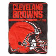 Cleveland Browns 40 Yard Dash Blanket