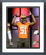 Cleveland Browns Barkevious Mingo 2015 Uniform Unveiling Framed Photo