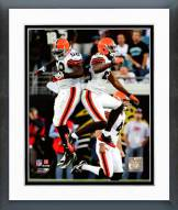 Cleveland Browns Beau Bell & Sean Jones 2008 Action Framed Photo
