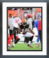 Cleveland Browns Ben Tate 2014 Action Framed Photo