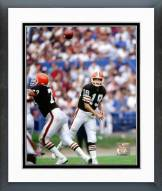 Cleveland Browns Bernie Kosar 1989 Action Framed Photo