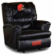 Cleveland Browns Big Daddy Leather Recliner