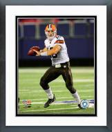 Cleveland Browns Brady Quinn 2008 Action Framed Photo