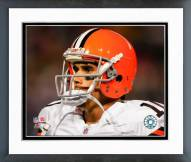 Cleveland Browns Brady Quinn 2008 Close Up Framed Photo