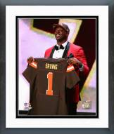 Cleveland Browns Cameron Erving 2015 NFL Draft Framed Photo