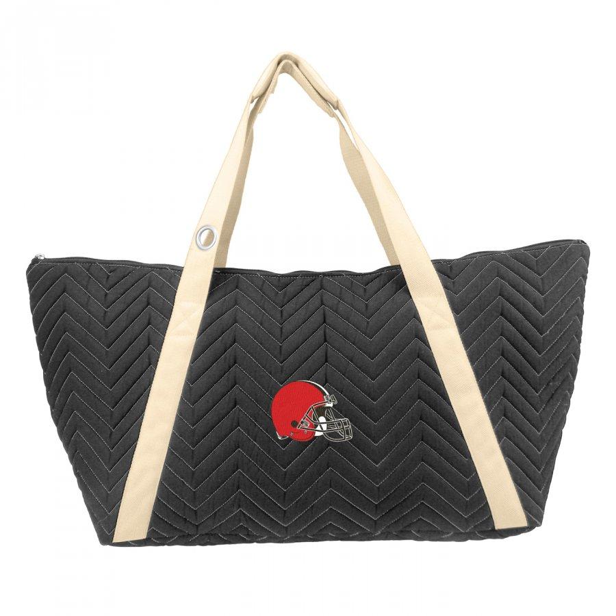 Cleveland Browns Chevron Stitch Weekender Bag