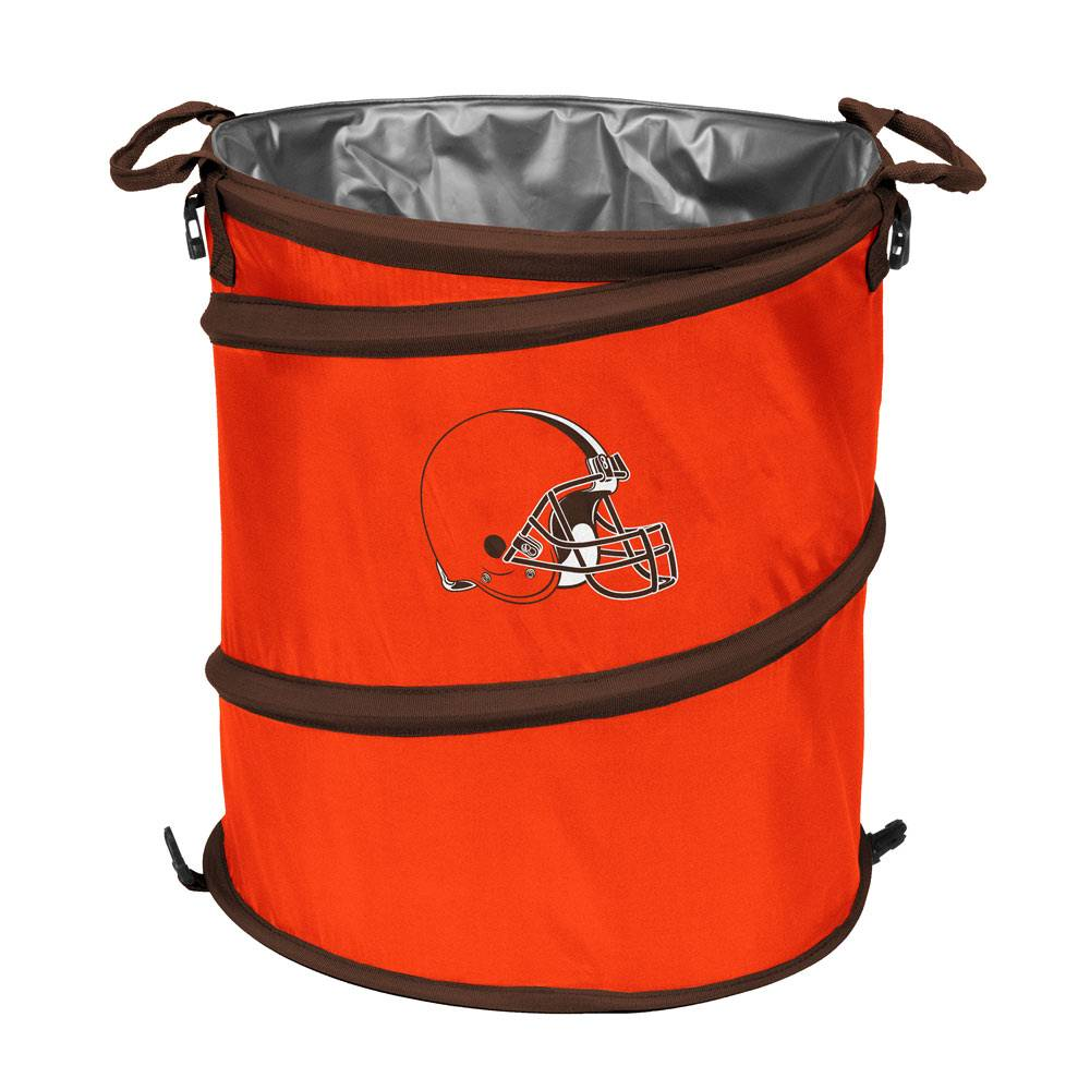Cleveland browns collapsible laundry hamper - Collapsible clothes hamper ...