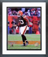 Cleveland Browns Craig Robertson 2014 Action Framed Photo