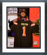 Cleveland Browns Danny Shelton 2015 NFL Draft Framed Photo