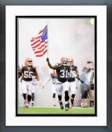 Cleveland Browns Donte Whitner 2014 Action Framed Photo