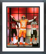 Cleveland Browns Donte Whitner 2015 Uniform Unveiling Framed Photo