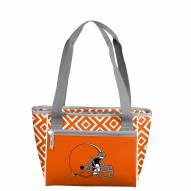 Cleveland Browns Double Diamond Cooler Tote