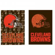 Cleveland Browns Double Sided Glitter Garden Flag