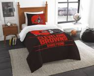Cleveland Browns Draft Twin Comforter Set