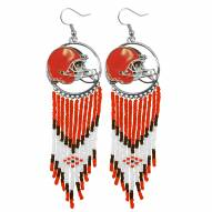Cleveland Browns Dreamcatcher Earrings