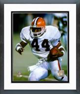 Cleveland Browns Earnest Byner 1987 Action Framed Photo
