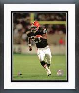 Cleveland Browns Earnest Byner Action Framed Photo
