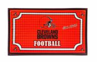 Cleveland Browns Embossed Door Mat