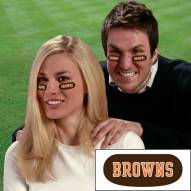 Cleveland Browns Eye Black Strips