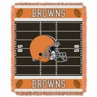 Cleveland Browns Field Baby Blanket