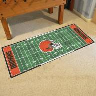 Cleveland Browns Football Field Runner Rug