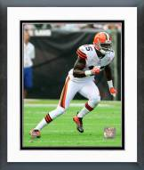 Cleveland Browns Greg Little 2011 Action Framed Photo
