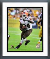 Cleveland Browns Isaiah Crowell 2014 Action Framed Photo